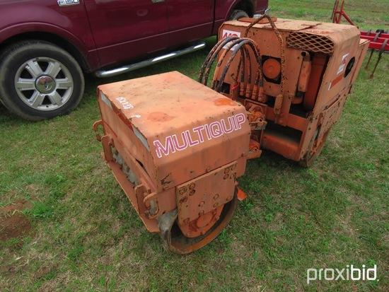Multiquip dirt compactor