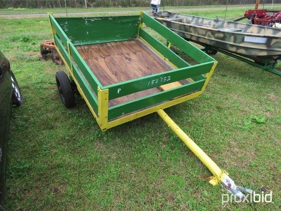 Homemade 4x5 wagon