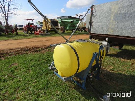 AgSpray 200 gallon 3pt sprayer w/ booms