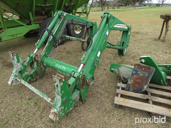 John Deere 721 loader w/ brackets