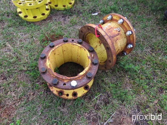 """(2) John Deere 10"""" wheel spacers"""
