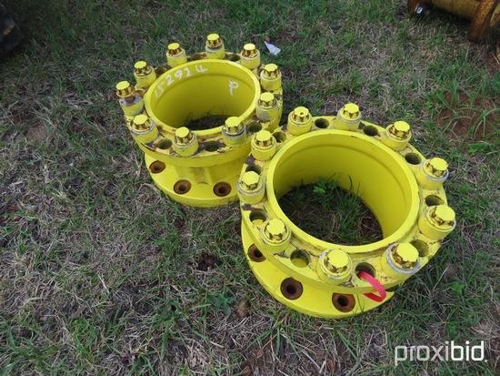 """(2) John Deere 8"""" wheels spacers"""