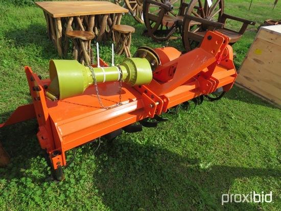 6' 3pt rotary tiller w/ shaft (unused)