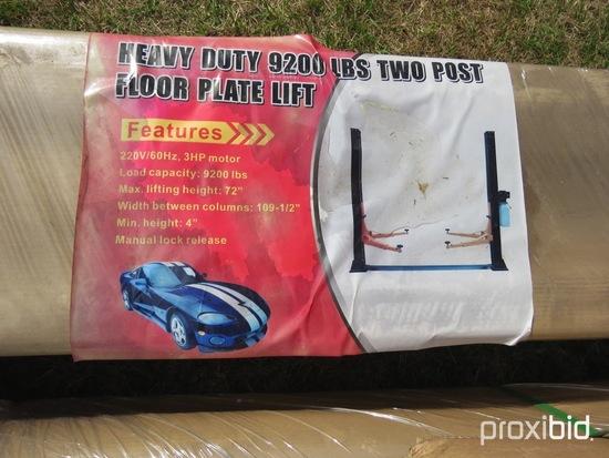 9200lb 2 post automotive lift w/ pump