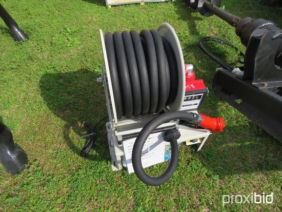 Fuel pump w/ hose reel