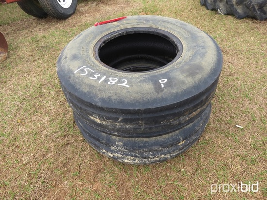 (2) 10.00-16 front tractor tires