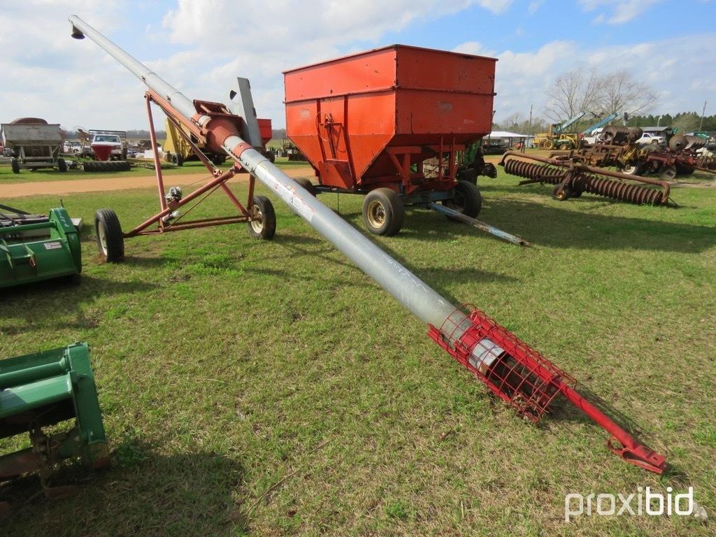 "Hutchinson 7""x36' grain transport auger"