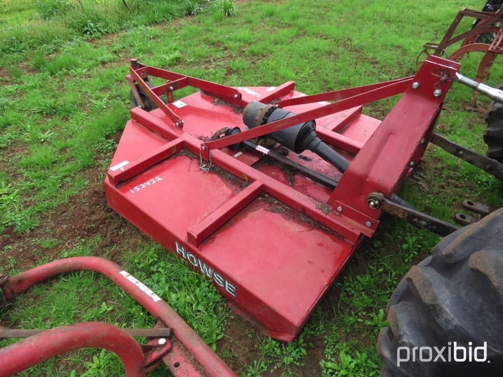 Howse 6100T 3pt mower w/ shaft