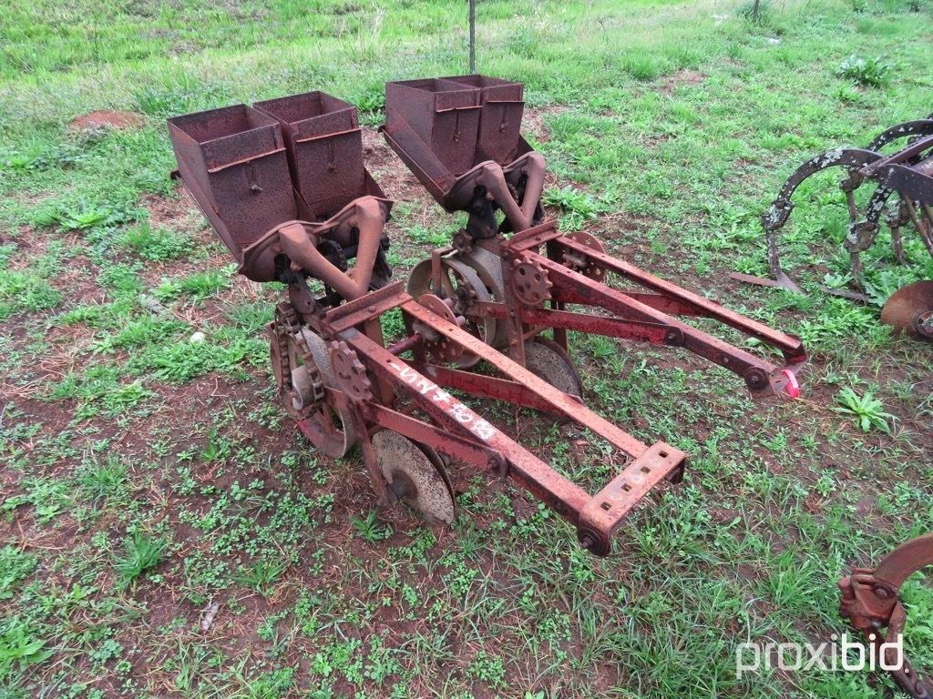 (2) Covington planter units