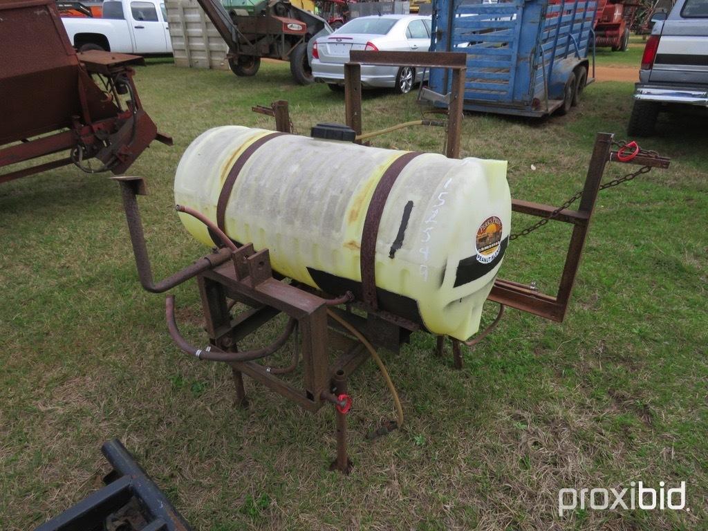 100 gallon sprayer w/ pump