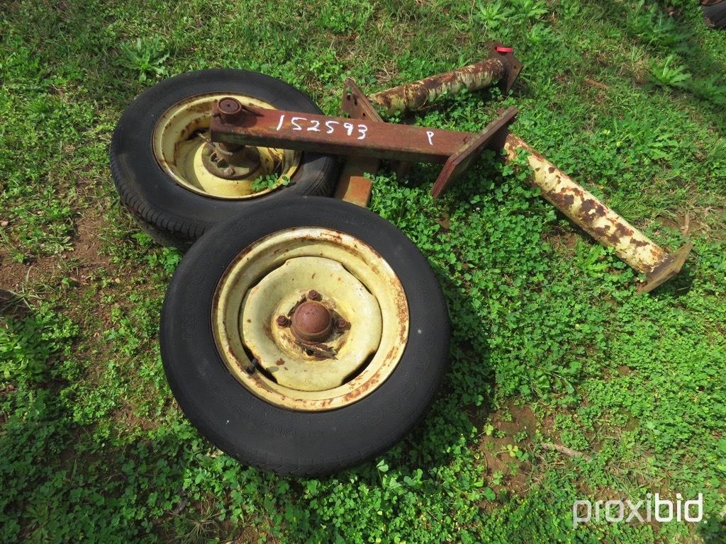 (2) Gauge wheels
