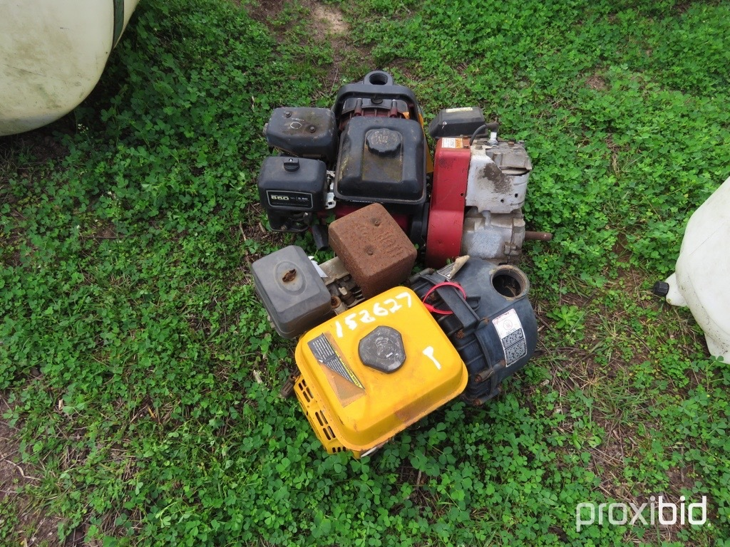Nurse tanks motors and pumps