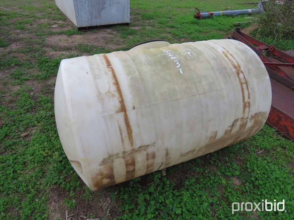 150 gallon spray tank