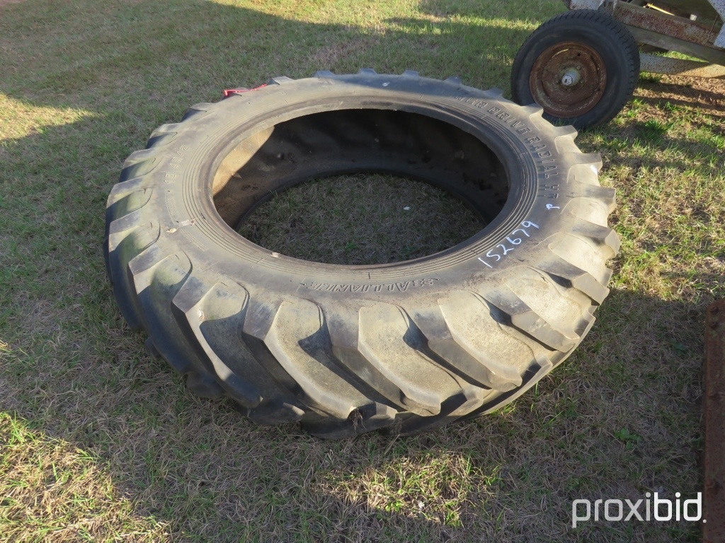 (1) Alliance 18.4-42 tire