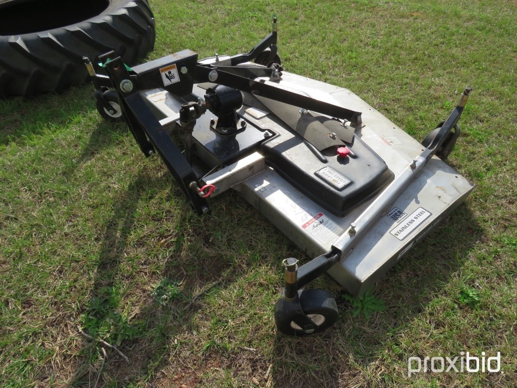 "Taylor-Way 84"" stainless steel finish mower w/ shaft"
