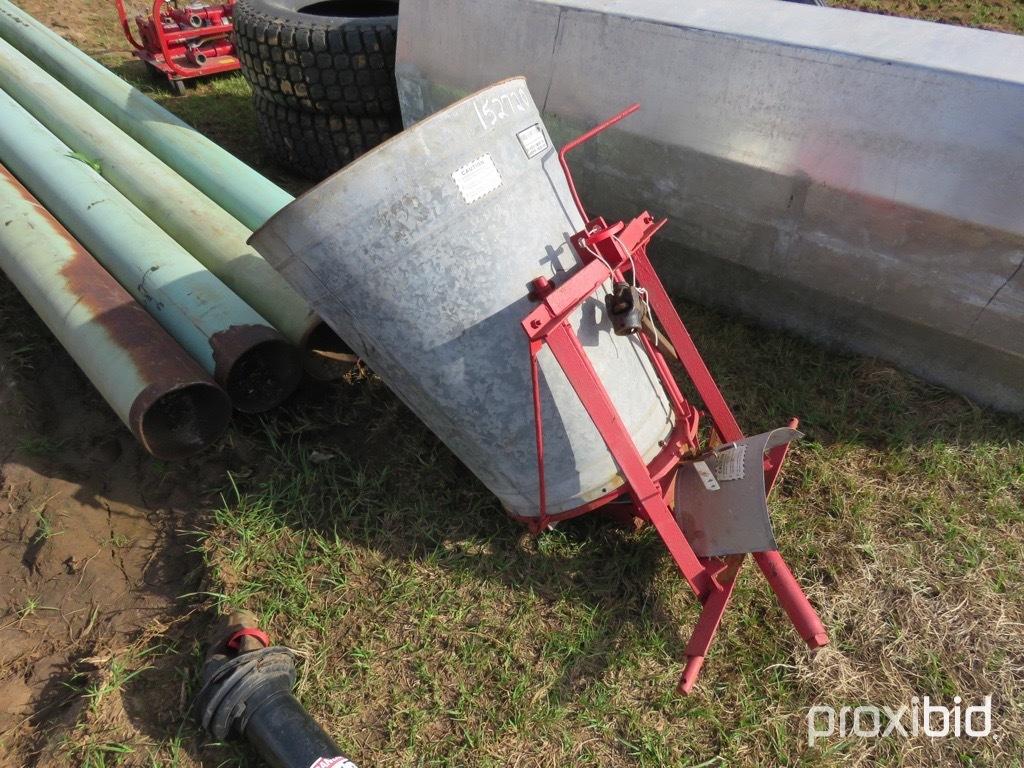 Herd F-160 3pt seeder w/ shaft