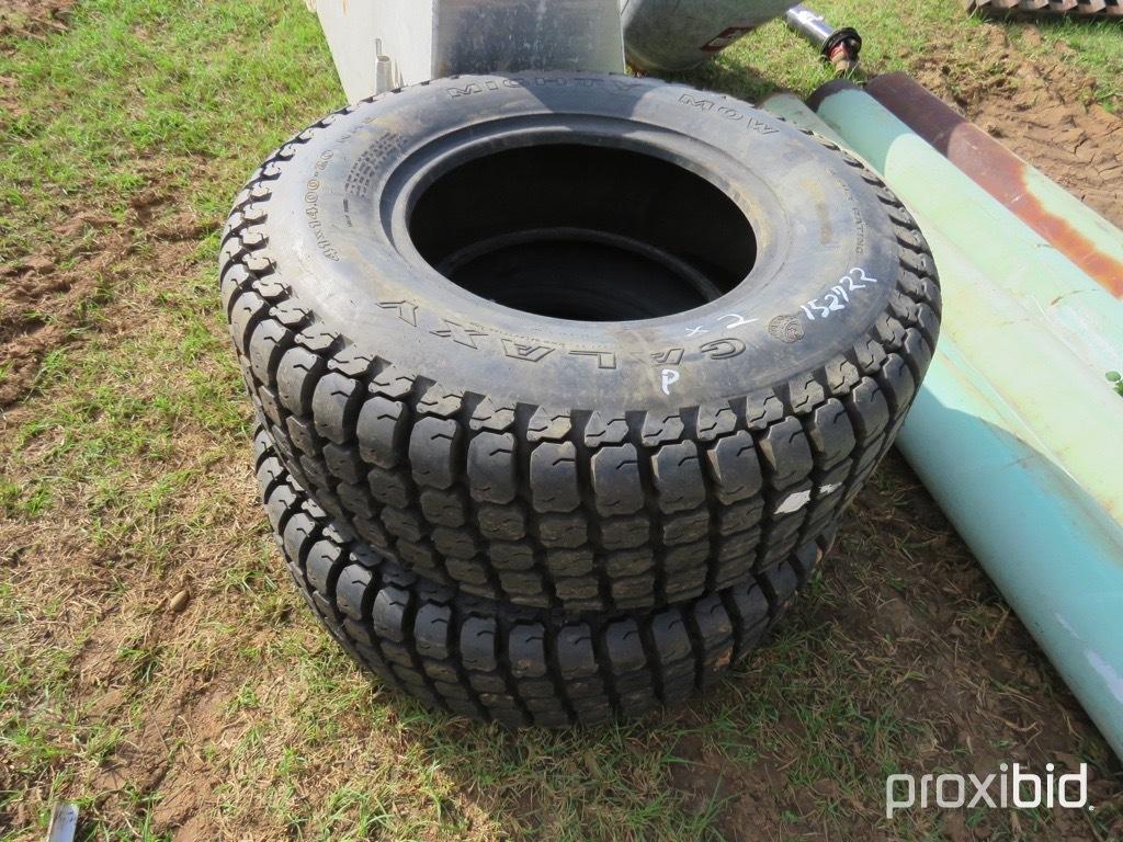 (2) Galaxy 41x4.00-20 tires (unused)