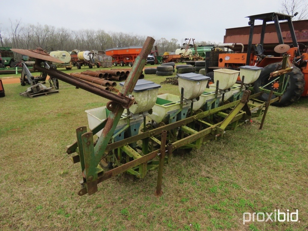 Cole 4 row twin row planter w/ markers