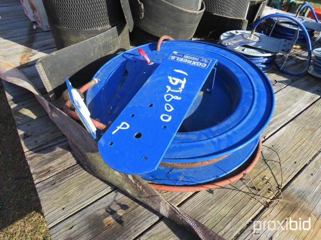 Cox air hose reel