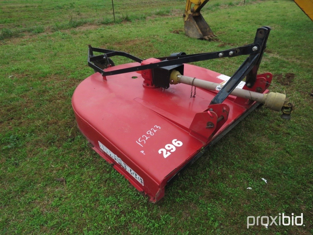 Bush-Hog 296  3pt mower