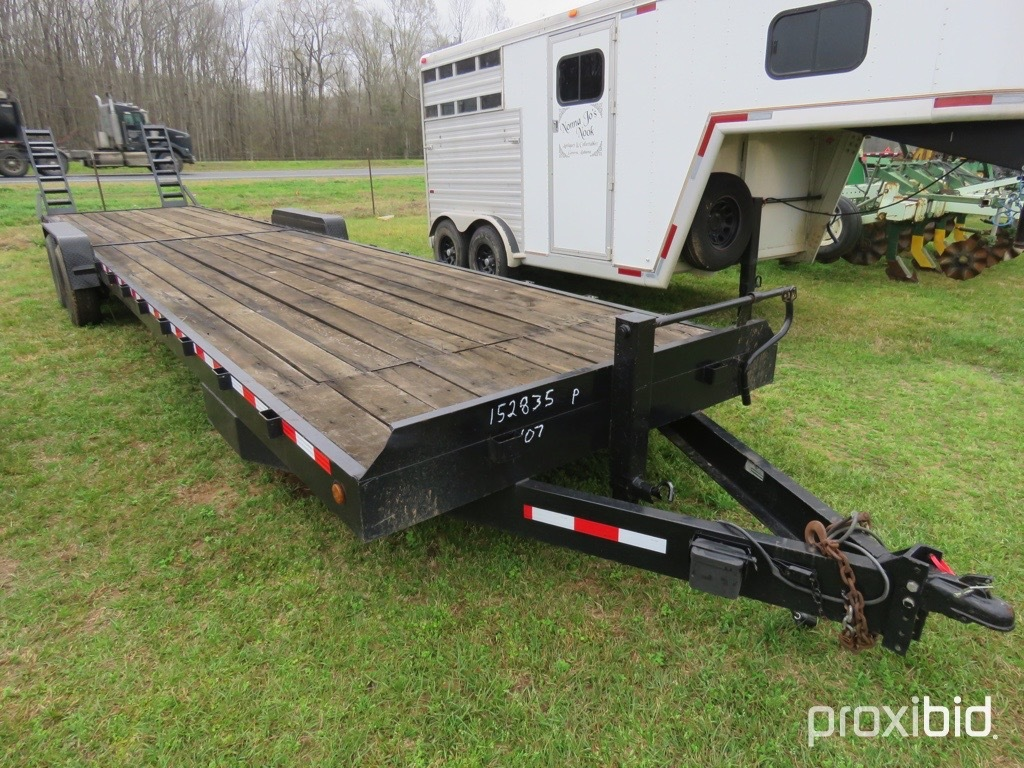 2007 Trailer World 7x35 car hauler