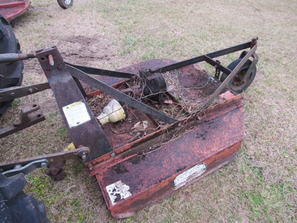 Howse 4'  3pt mower w/ shaft