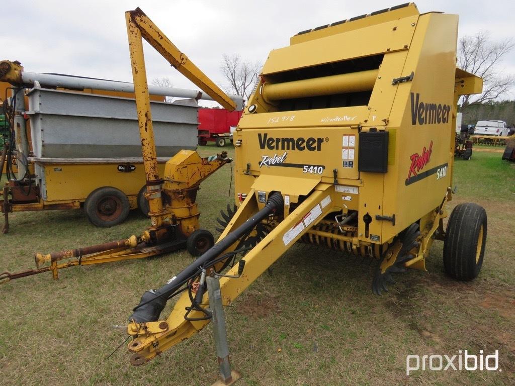 Vermeer Rebel 5410 round baler