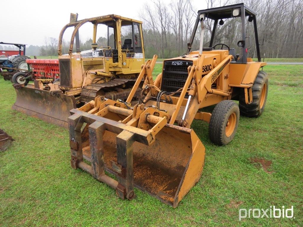 Case 580C loader