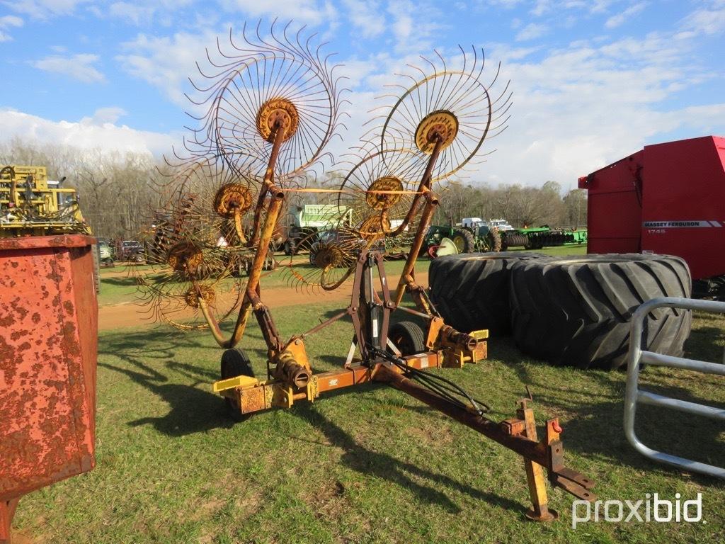 Vermeer WR20  8 wheel caddy hay rake
