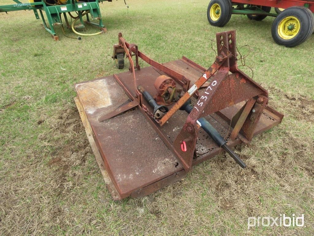 Brown 5' 3pt mower w/ shaft
