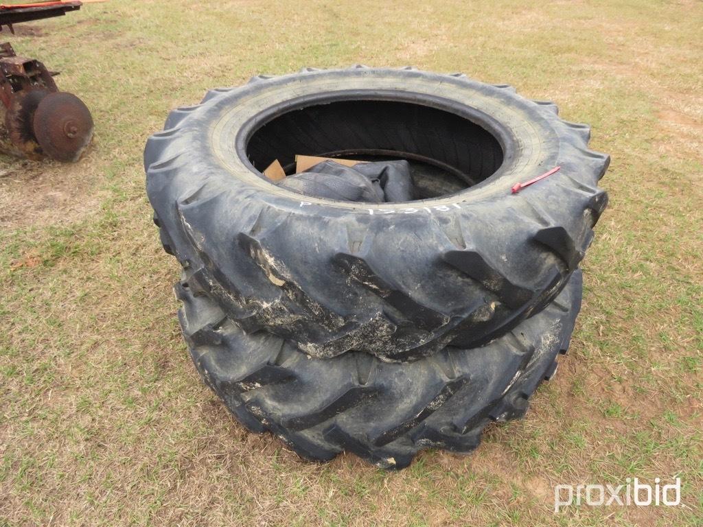 (2) Alliance 16.9-34 tires w/ tubes