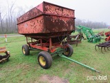 Killbros 300 gravity wagon w/ hydraulic auger