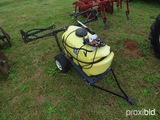 25 gallon yard sprayer w/ pump
