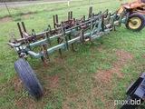 John Deere 12' field cultivator w/ Remlinger harrow