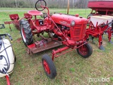 Farmall Cub tractor w/ belly mower