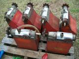 (6) Gandy applicator hoppers