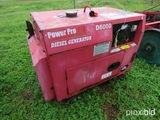 Power Pro D6000 diesel generator