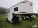 1998 Hart aluminum horse trailer