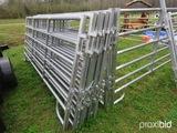 (10) 12' livestock panels