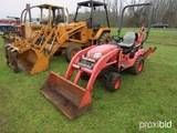 Kubota BX25 tractor w/ LA240 loader & BT601 backhoe