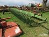 John Deere 400 rotary hoe w/ transport