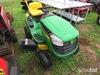 John Deere D105 riding mower