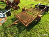 Homemade 4x6 utility trailer (bill of sale, weight ticket)