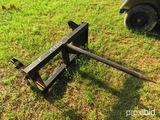 Kubota M1058 quick attach loader bale spear