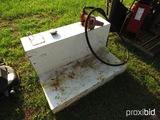 Fuel tank w/ 12V pump