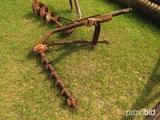 3pt pto post hole auger w/ shaft (6