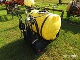 Ag Spray 110 gallon 3pt boomless sprayer