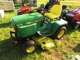 John Deere 332 riding mower