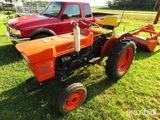 Kubota L150 tractor