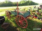 Antique 4 wheel horse wagon